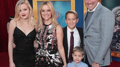 Reese Witherspoon's family date night