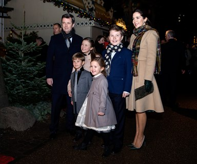 Princess Mary and Prince Frederik take the kids to The Nutcraker