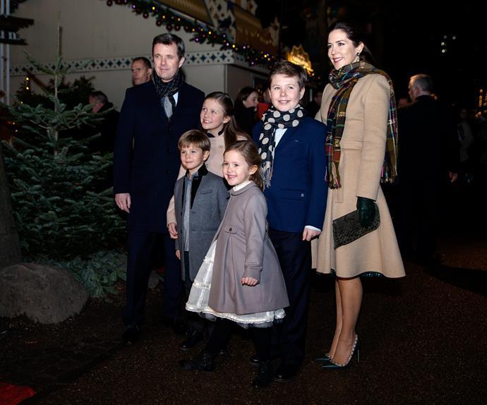 Crown Princess Mary and Danish Crown Prince Frederik