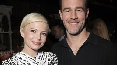 Dawson's Creek stars Michelle Williams and James Van Der Beek reunite