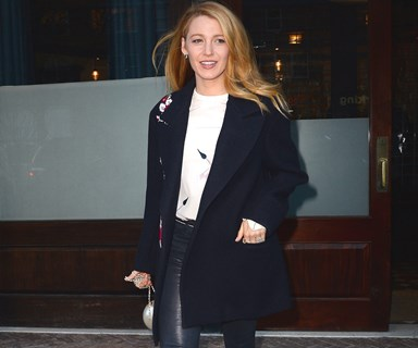 Blake Lively is starting her New Year's Resolution early