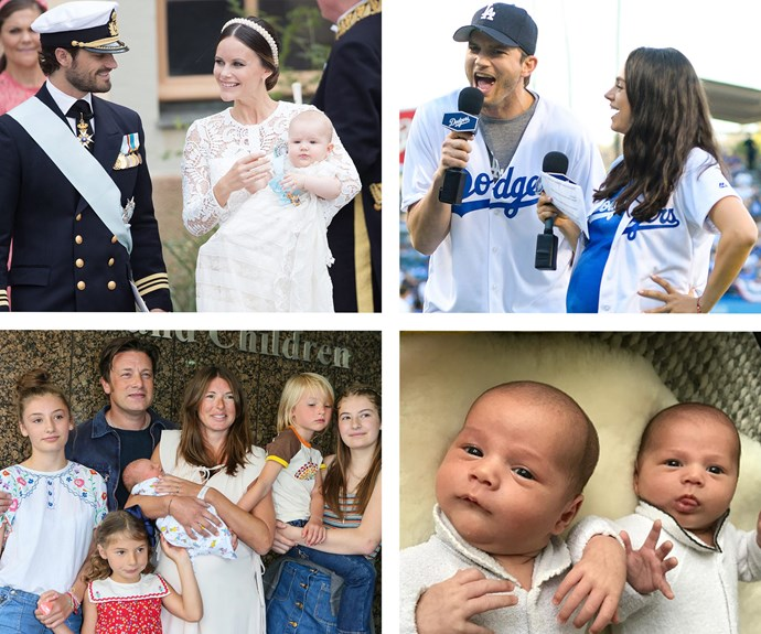 Celebrity babies born in 2016