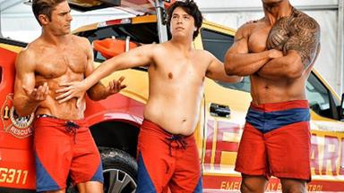 First trailer for the Baywatch reboot with The Rock and Zac Efron!