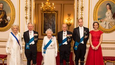 The Royal Family unite for the annual Diplomatic Reception