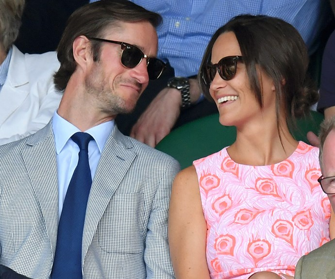 Pippa Middleton's wedding to James Matthews is under a social media ban.