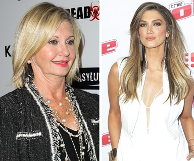 What made Olivia Newton-John snap at Delta Goodrem?