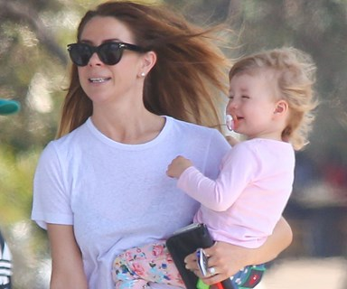 Kate Ritchie and her daughter Mae's sweet day out