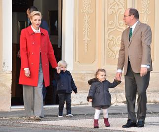 Monaco royal twins, Princess Charlene, Prince Albert