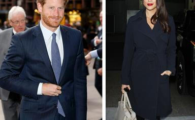 The first photos of Prince Harry and Meghan Markle are here!