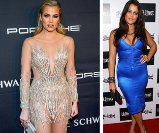 Khloe Kardashian's body transformation