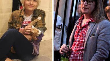 Paris Jackson hangs out with her godfather Macaulay Culkin
