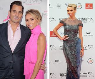 Giuliana Rancic with her husband Bill Rancic