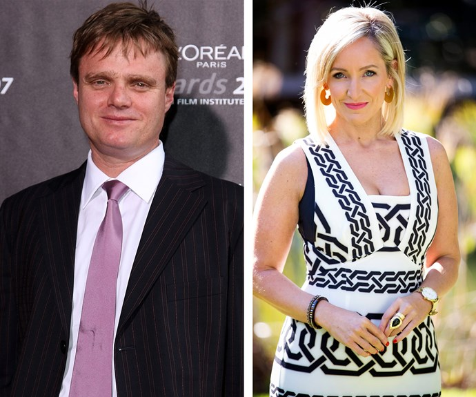 Fifi Box and Damien Richardson