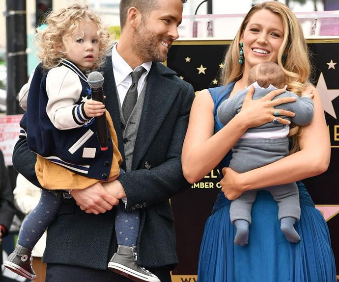 Blake Lively and Ryan Reynolds' baby name revealed | Now ...