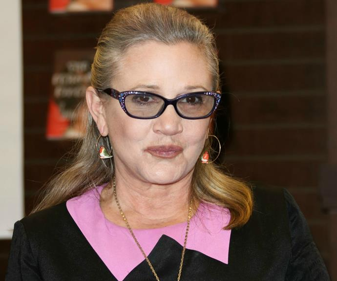Carrie had just released a new book, *The Princess Diarist* which revealed a steamy affair she shared with Harrison Ford while shooting *Star Wars*.