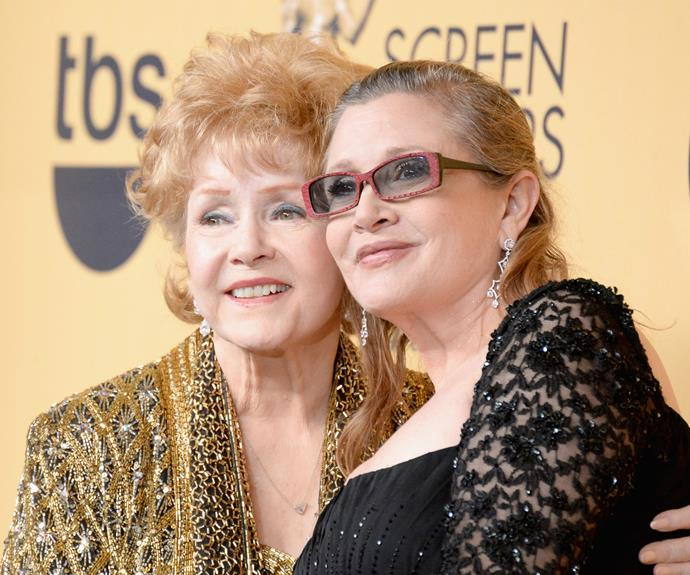 The Hollywood mother-daughter duo had an infamously fraught relationship, though the pair had mended the rift and were close at the time of Carrie's death.