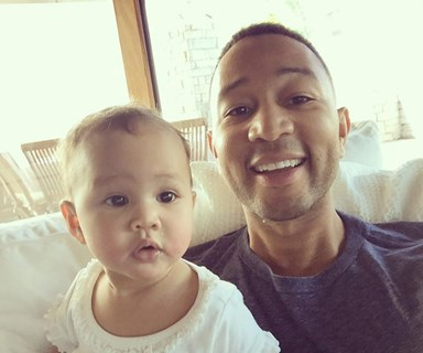 John Legend celebrates his birthday with daughter Luna