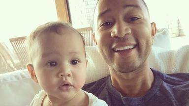 John Legend celebrates his birthday with daughter Luna