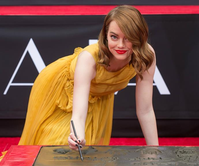 "Emma was recently honoured with a hand and footprint ceremony at Los Angeles' iconic TCL Chinese Theatre. The star revealed that she ""cried a little bit inside"" upon hearing the news."