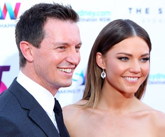 Rove McManus and Sam Frost