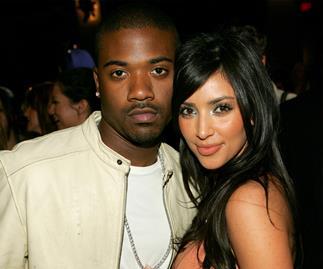 Ray J and Kim Kardashian-West.