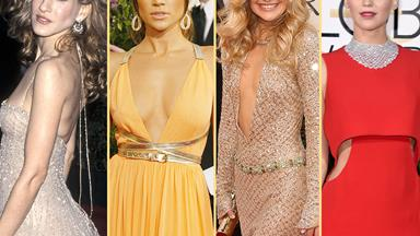 Fashion flashback! The most memorable Golden Globe dresses of all time
