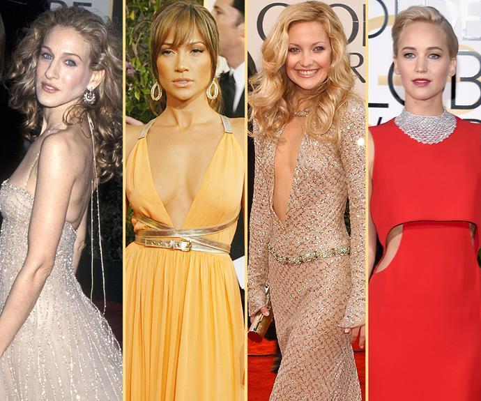 Sarah Jessica-Parker, Jennifer Lopez, Kate Hudson, Jennifer Lawrence