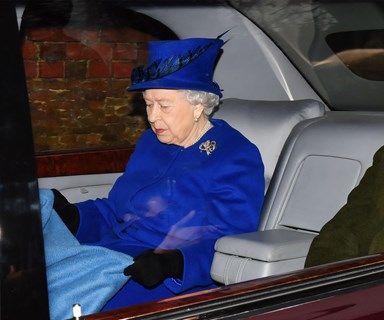 Queen Elizabeth II makes her first appearance in almost a month