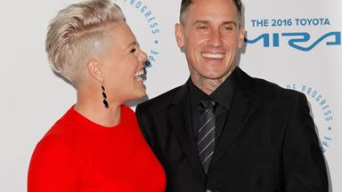 Pink's touching anniversary tribute to hubby Carey Hart