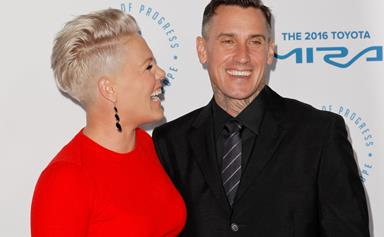 Pink's unique push present from Carey Hart