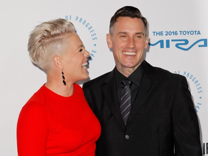 Pink's wedding anniversary tribute to Carey Hart