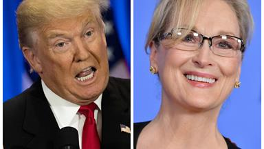 Donald Trump reacts to Meryl Streep's Golden Globes speech
