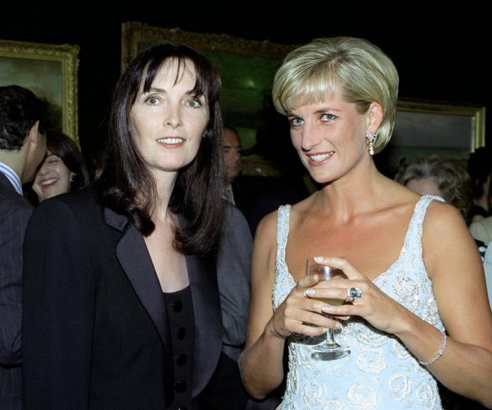 Diana with close friend, Catherine Walker.