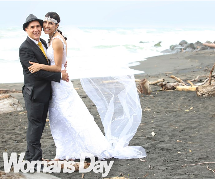 Marathon bride Lisa Tamati's race to the altar