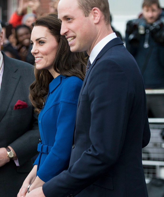 Kate was joined by her beloved husband William at her second engagement for the day.