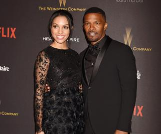 Jamie Foxx and daughter Corrine