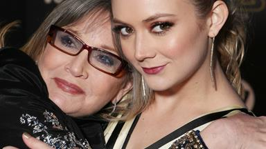 Billie Lourd shares an emotional tribute to late mum Carrie Fisher