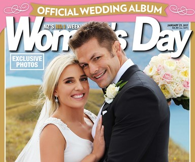 Mr and Mrs McCaw's wonderful Wanaka wedding in Woman's Day