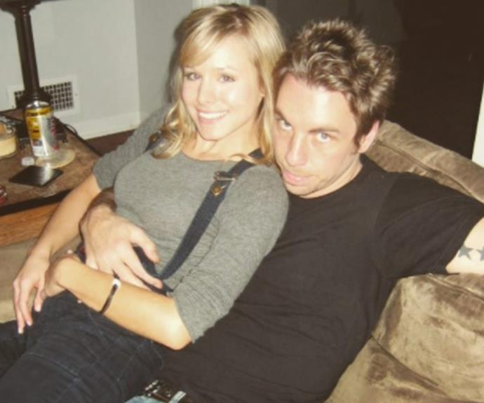 "Dax Shepard has reminded us all that love is alive and well! The 42-year-old actor shared an adorable photo of himself and wife Kristen Bell during the early days of their epic love story. He captioned the sweet photo, ""9 years ago. And unfortunately that bottom lip isn't from injections, it's Skoal. That's right, I landed @kristenanniebell while in the throes of a nasty dip habit. Thanks for being an optimist, honey."" So cute!"