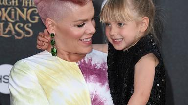 """She's a little weepy"": Pink admits her daughter isn't thrilled with baby number two"