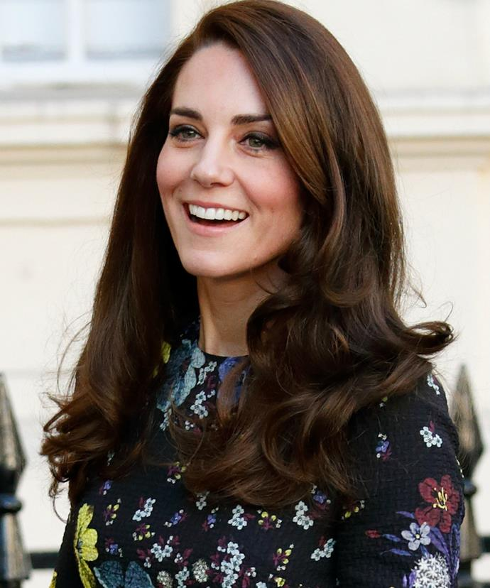 Kate looked radiant as always at the event.