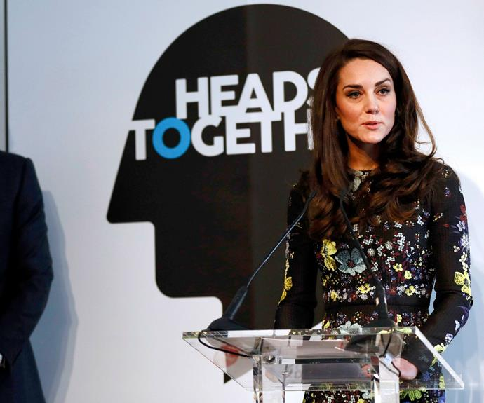 The Duchess certainly looks confident at the podium.