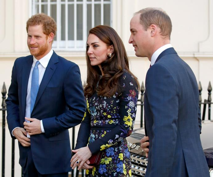 Prince Harry, Duchess Kate, Prince William