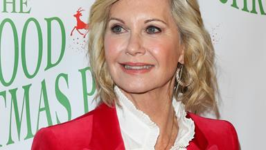 "Olivia Newton-John says she's ""grateful"" for her cancer battle"