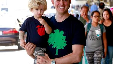"""Michael Bublé says son Noah's cancer treatment is """"progressing well"""""""