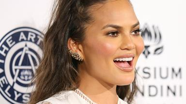 Chrissy Teigen has shared a down-to-earth pic of her stretch marks