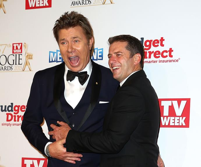 Karl Stefanovic follows Richard Wilkins' hair on Instagram