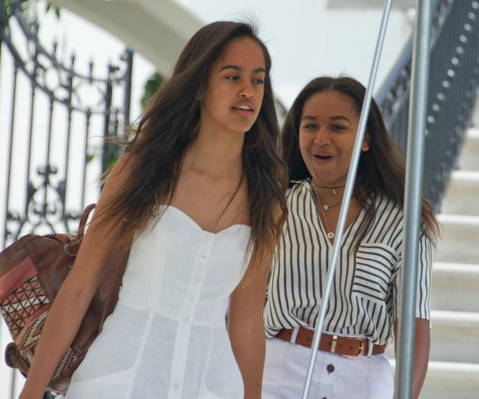 The Obama girls sure have grown up!