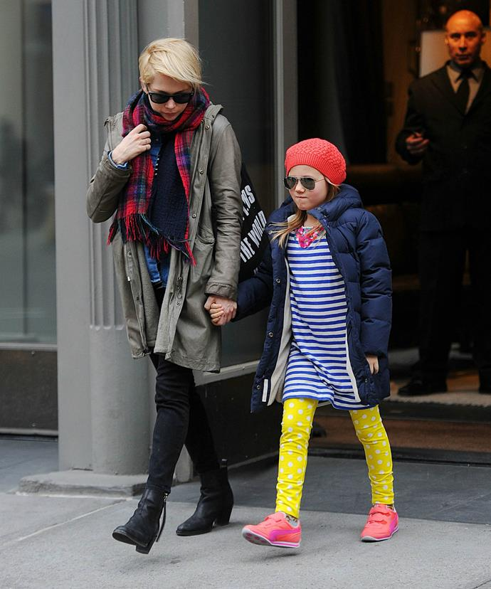 Michelle with her beautiful daughter, Matilda, in 2013.