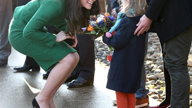 Duchess Kate's emotional visit to children's hospice